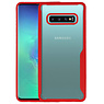 Rood Focus Transparant Hard Cases Samsung Galaxy S10 Plus