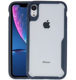 Navy Focus Transparant Hard Cases iPhone XR