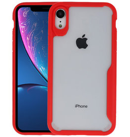 Rood Focus Transparant Hard Cases iPhone XR