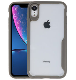 Grijs Focus Transparant Hard Cases iPhone XR