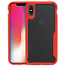 Rood Focus Transparant Hard Cases iPhone X / XS