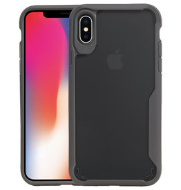 Grijs Focus Transparant Hard Cases iPhone X / XS