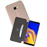 Goud Slim Folio Case Samsung Galaxy J4 Plus