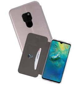 Grijs Slim Folio Case Huawei Mate 20