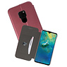 Bordeaux Rood Slim Folio Case Huawei Mate 20