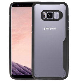 Zwart Focus Transparant Hard Cases Samsung Galaxy S8