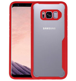 Rood Focus Transparant Hard Cases Samsung Galaxy S8