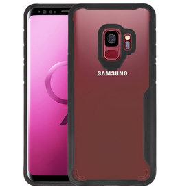 Zwart Focus Transparant Hard Cases Samsung Galaxy S9