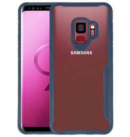 Navy Focus Transparant Hard Cases Samsung Galaxy S9