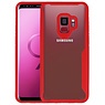 Rood Focus Transparant Hard Cases Samsung Galaxy S9