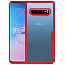 Rood Focus Transparant Hard Cases Samsung Galaxy S10