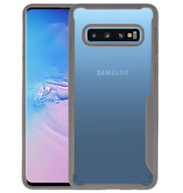 Grijs Focus Transparant Hard Cases Samsung Galaxy S10