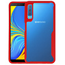 Rood Focus Transparant Hard Cases Samsung Galaxy A7 2018