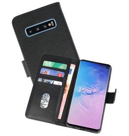 Bookstyle Wallet Cases Hoesje Samsung Galaxy S10 Zwart
