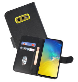 Bookstyle Wallet Cases Hoesje Samsung Galaxy S10e Zwart