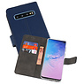 Wallet Cases Hoesje Samsung Galaxy S10 Navy