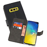 Wallet Cases Hoesje Samsung Galaxy S10e Zwart