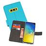 Wallet Cases Hoesje Samsung Galaxy S10e Blauw