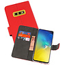 Wallet Cases Hoesje Samsung Galaxy S10e Rood