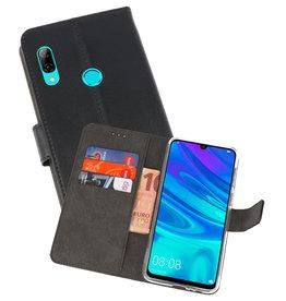 Wallet Cases Hoesje Huawei P Smart 2019 Zwart