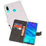 Wallet Cases Hoesje Huawei P Smart 2019 Wit
