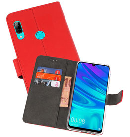 Wallet Cases Hoesje Huawei P Smart 2019 Rood
