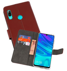 Wallet Cases Hoesje Huawei P Smart 2019 Bruin