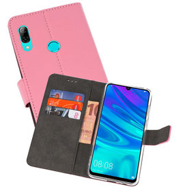 Wallet Cases Hoesje Huawei P Smart 2019 Roze