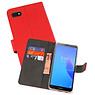 Wallet Cases Hoesje Huawei Y5 Lite 2018 Rood