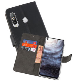 Wallet Cases Hoesje Samsung Galaxy A8s Zwart