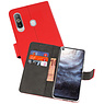 Wallet Cases Hoesje Samsung Galaxy A8s Rood