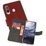 Wallet Cases Hoesje Samsung Galaxy A8s Bruin