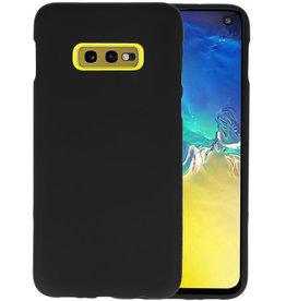 BackCover Hoesje Color Telefoonhoesje Samsung Galaxy S10e - Zwart