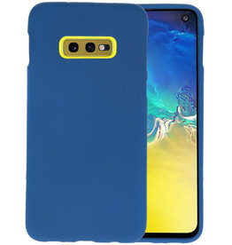 Color TPU Hoesje Samsung Galaxy S10e Navy