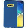 BackCover Hoesje Color Telefoonhoesje Samsung Galaxy S10e - Navy