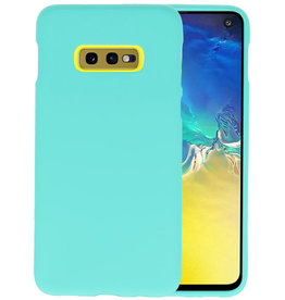 BackCover Hoesje Color Telefoonhoesje Samsung Galaxy S10e - Turquoise