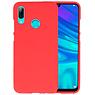 Color TPU Hoesje Huawei P Smart 2019 Rood