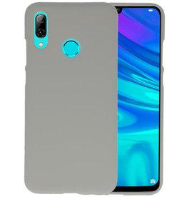 BackCover Hoesje Color Telefoonhoesje Huawei P Smart 2019 - Grijs