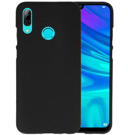 Color TPU Hoesje Huawei P Smart 2019 Zwart