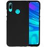 BackCover Hoesje Color Telefoonhoesje Huawei P Smart 2019 - Zwart