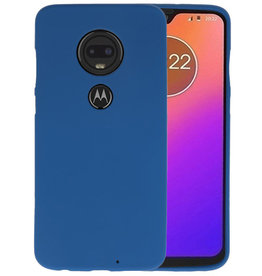BackCover Hoesje Color Telefoonhoesje Motorola Moto G7 - Navy