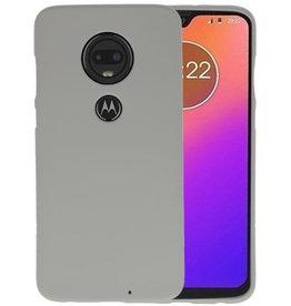 Color TPU Hoesje Motorola Moto G7 Grijs