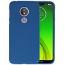 Color TPU Hoesje Motorola Moto G7 Power Navy