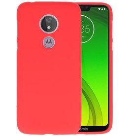 BackCover Hoesje Color Telefoonhoesje Motorola Moto G7 Power - Rood