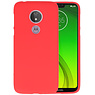 Color TPU Hoesje Motorola Moto G7 Power Rood
