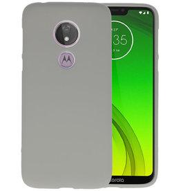 BackCover Hoesje Color Telefoonhoesje Motorola Moto G7 Power - Grijs