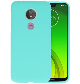 BackCover Hoesje Color Telefoonhoesje Motorola Moto G7 Power - Turquoise