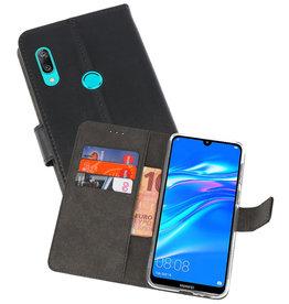 Wallet Cases Hoesje Huawei Y7 / Y7 Prime (2019) Zwart