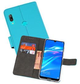 Wallet Cases Hoesje Huawei Y7 / Y7 Prime (2019) Blauw