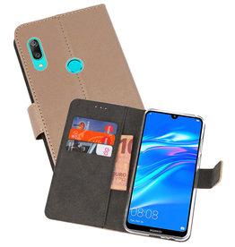 Wallet Cases Hoesje Huawei Y7 / Y7 Prime (2019) Goud